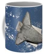 The Underside Of Space Shuttle Coffee Mug