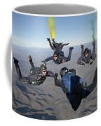 The U.s. Navy Parachute Demonstration Coffee Mug