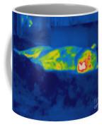 Thermogram Of A Tiger Coffee Mug