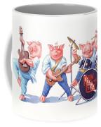 Thin Piggy Coffee Mug