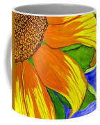 This Is No Subdued Sunflower Coffee Mug