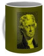 Thomas Jefferson In Yellow Coffee Mug
