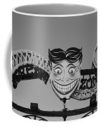 Tillie's Scream Zone In Black And White Coffee Mug
