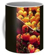 Tomatoes On The Market Coffee Mug