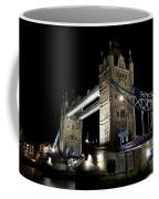 Tower Bridge At Night Coffee Mug