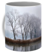 Trees On The Lake Front Coffee Mug