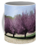 Trees On Warwick Coffee Mug by Trish Tritz