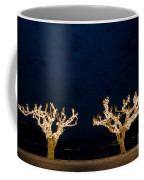 Trees With Lights Coffee Mug