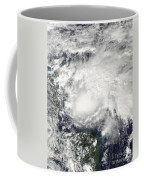 Tropical Storm Ida In The Caribbean Sea Coffee Mug