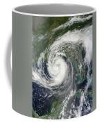 Tropical Storm Isaac Moving Coffee Mug