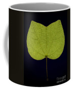 Two Lobed Leaf Coffee Mug
