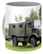 Unimog Truck Of The Belgian Army Coffee Mug