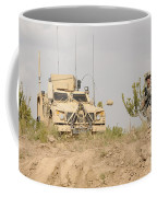 U.s. Army Sergeant Provides Security Coffee Mug