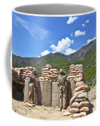 U.s. Army Soldier And An Afghan Coffee Mug