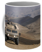 U.s. Army Soldier Provides Security Coffee Mug