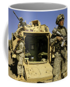 U.s. Army Soldiers Provide Security Coffee Mug