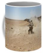 U.s. Marines Fire Several Coffee Mug