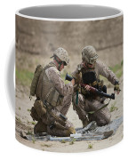 U.s. Marines Prepare A Fragmentation Coffee Mug