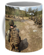 U.s. Marines Provide Security Coffee Mug