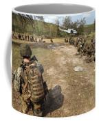 U.s. Marines Provide Security Coffee Mug