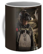 U.s. Navy Seal Equipped With Night Coffee Mug