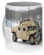 U.s. Soldiers Take Cover Coffee Mug