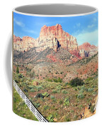 Utah Cactus Field Coffee Mug