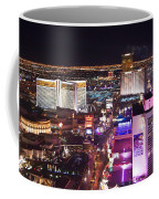 Vegas Strip At Night Coffee Mug