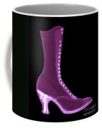 Victorian Ladies Boot Coffee Mug