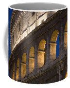 View Of The Roman Coliseum In Rome Coffee Mug