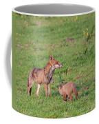 Vixen And Cub Coffee Mug