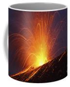 Vulcanian Eruption Of Anak Krakatau Coffee Mug