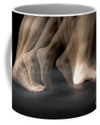 Walking Coffee Mug by Ted Kinsman