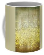Water Pattern On Old Paper Coffee Mug