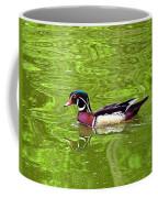 Water Wood Duck Coffee Mug