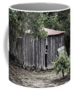 Watercolor Barn Coffee Mug by Joan Carroll