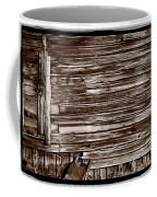 Weathered Wall In Bodie Ghost Town Coffee Mug