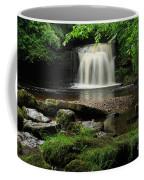 West Burton Falls In Wensleydale Coffee Mug