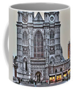 Westminster Abbey And  Victoria Tower Coffee Mug