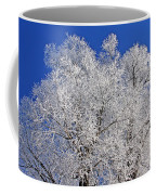 White Frost Tree  Coffee Mug