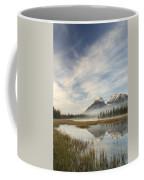 Whitegoat Lake And Mount Elliot Coffee Mug