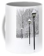 Winter Park Coffee Mug by Elena Elisseeva