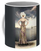 Woman At The Lake Coffee Mug