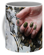 Woman Hand In Water Coffee Mug