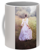 Woman In A Meadow Coffee Mug