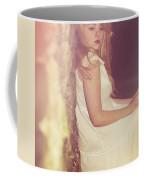 Woman In Alley Coffee Mug