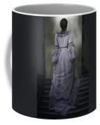 Woman On Steps Coffee Mug by Joana Kruse