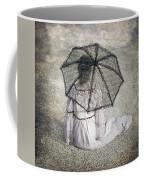 Woman On Street Coffee Mug by Joana Kruse