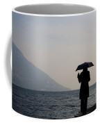Woman With An Umbrella Coffee Mug