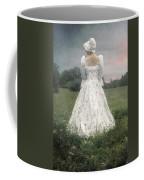 Woman With Bonnet Coffee Mug by Joana Kruse